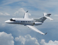 Hawker 800XP Private Jet Hire
