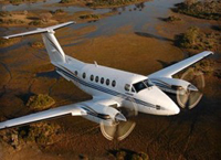 Kingair 200 Private Jet Charter