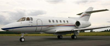 Hawker 800 Private Jet Charter Manchester
